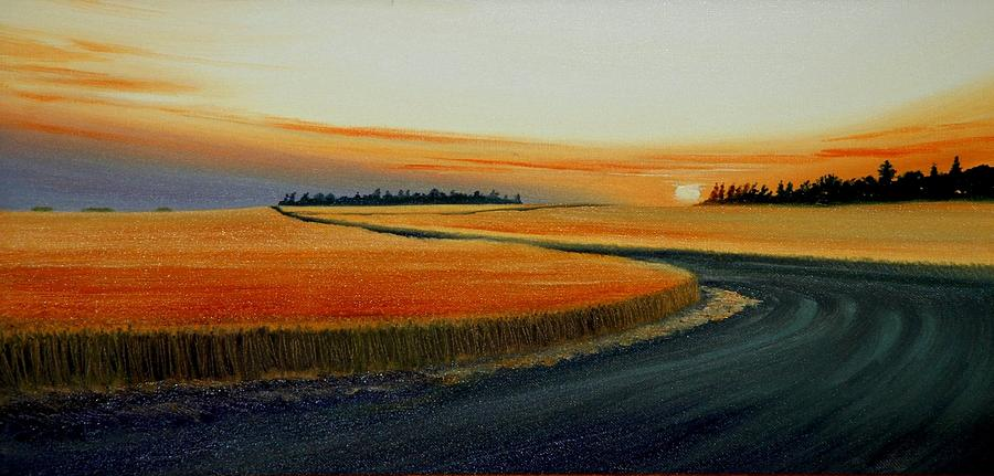 Near Moscow Painting