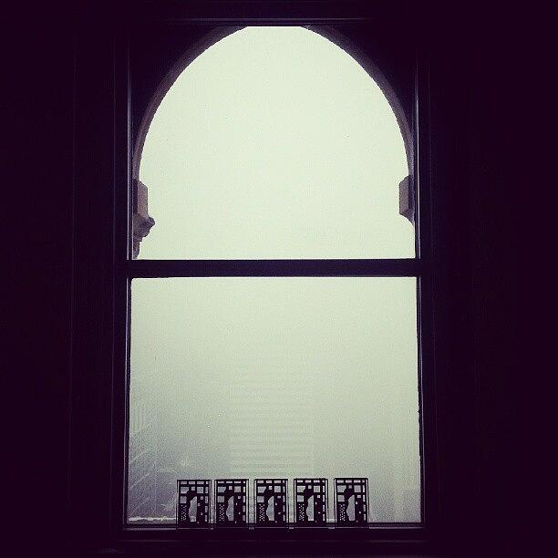Window Photograph - Near White-out Conditions In Chicago by Jill Tuinier