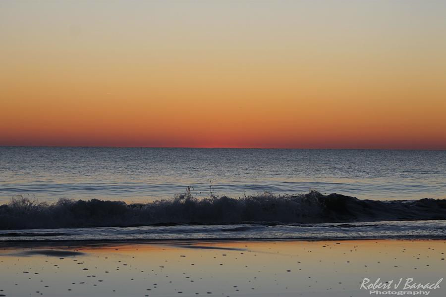 Sun Photograph - Nearly Sunrise by Robert Banach