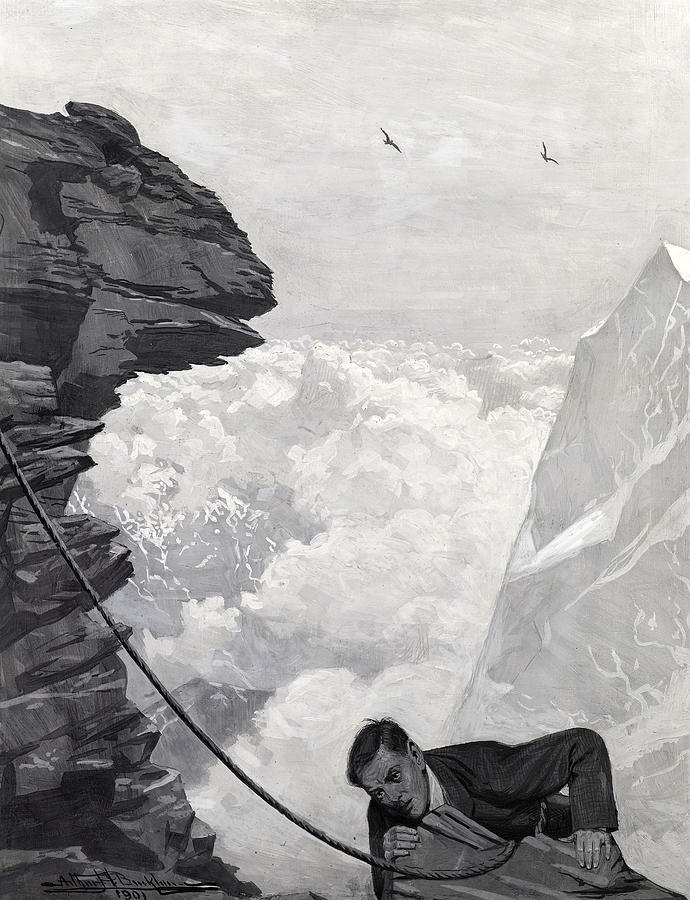 Illustration Painting - Nearly There by Arthur Herbert Buckland
