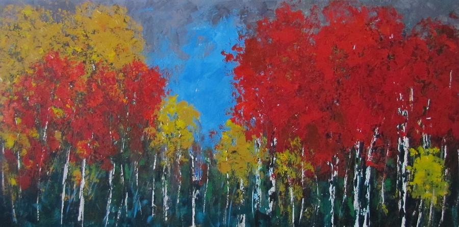 Trees Painting - Nebo Loop by Vicki Conlon