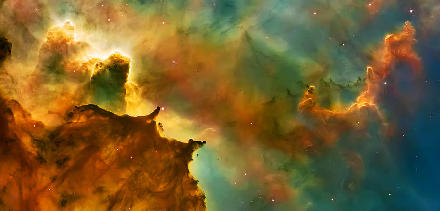 Nasa Images Photograph - Nebula Cloud by Jennifer Rondinelli Reilly - Fine Art Photography