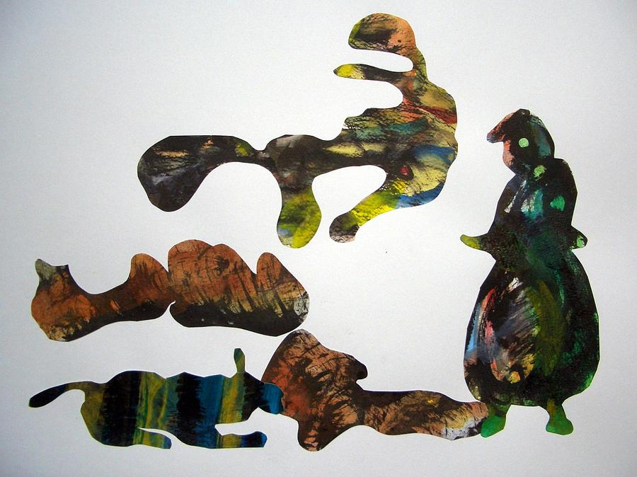 Harie Drawing - Need Feed by Aquira Kusume
