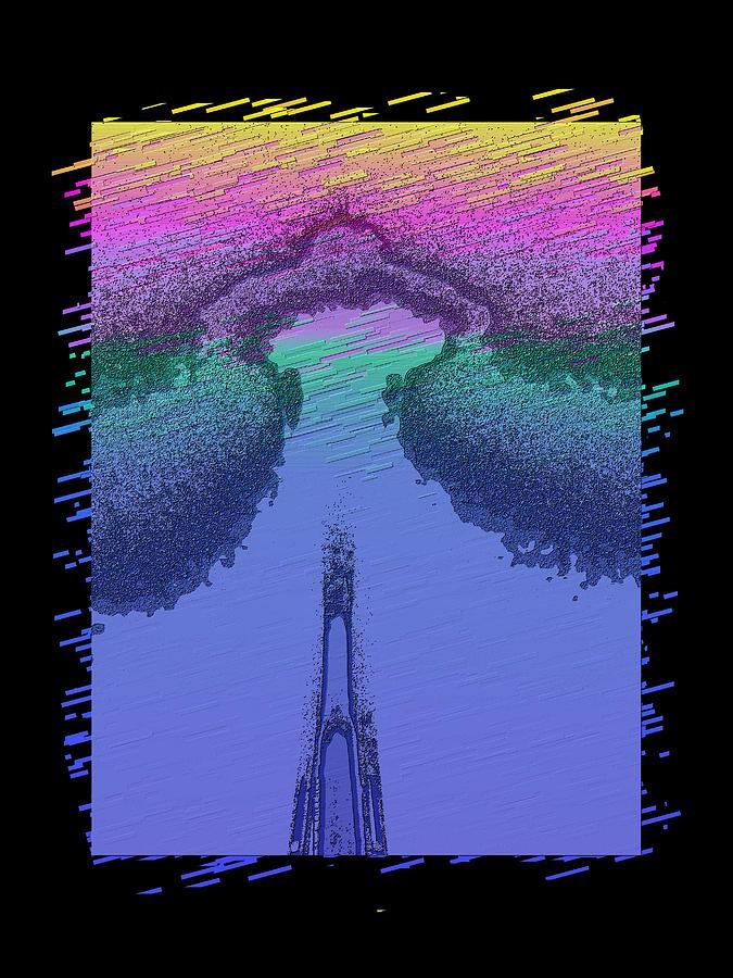 Needle Digital Art - Needle In The Mist by Tim Allen
