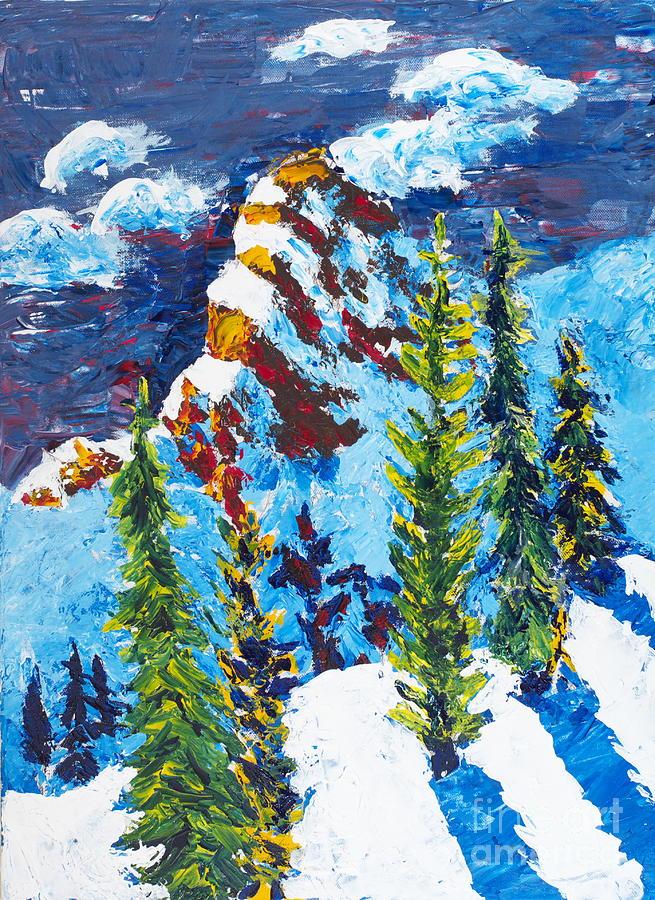 Needles At Noon Painting