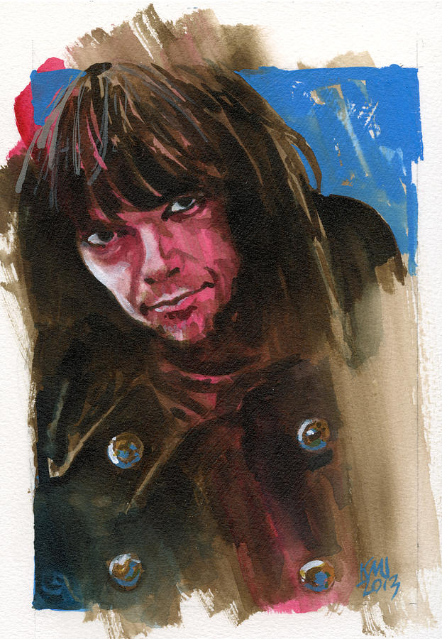 Neil Young Painting - Neil Young by Ken Meyer jr