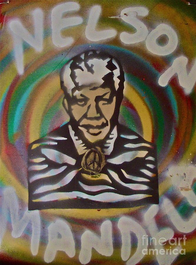 Nelson Mandela Painting - Nelson Mandela by Tony B Conscious