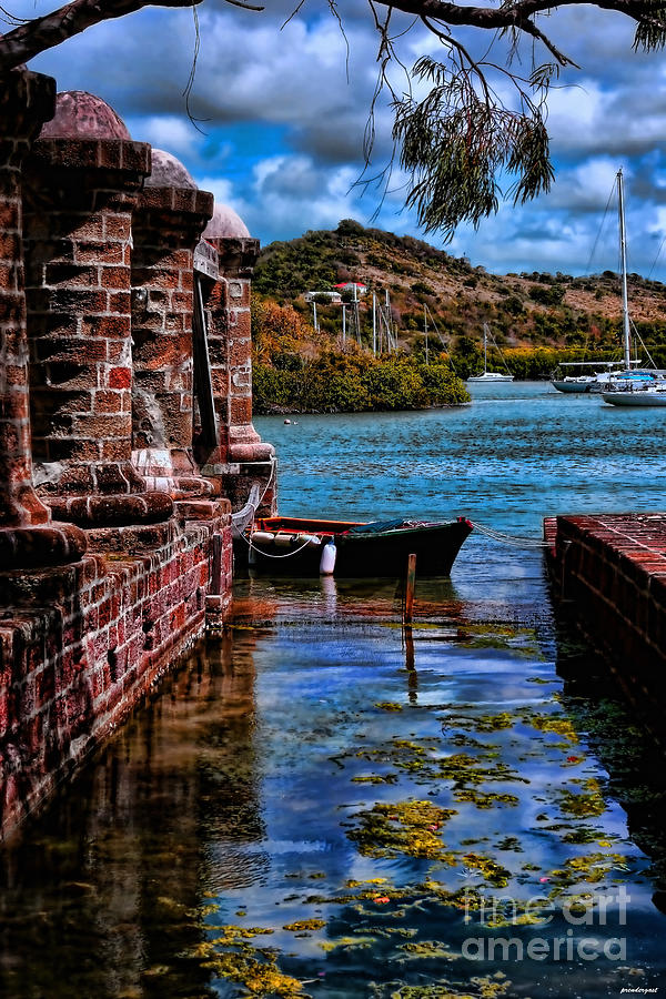 Nelson's Dockyard Antigua by Tom Prendergast