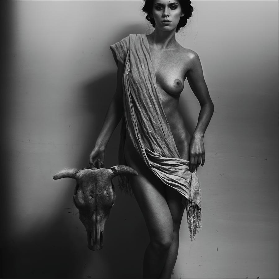 Fine Art Nude Photograph - Nemesis by Alexander Pereverzov