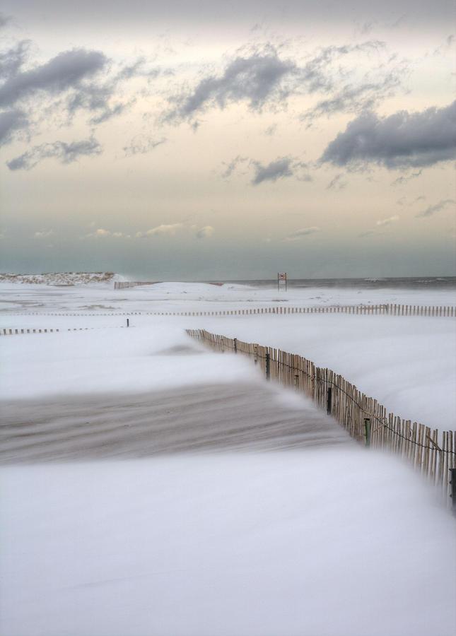Winter Storm Nemo Photograph - Nemo by JC Findley