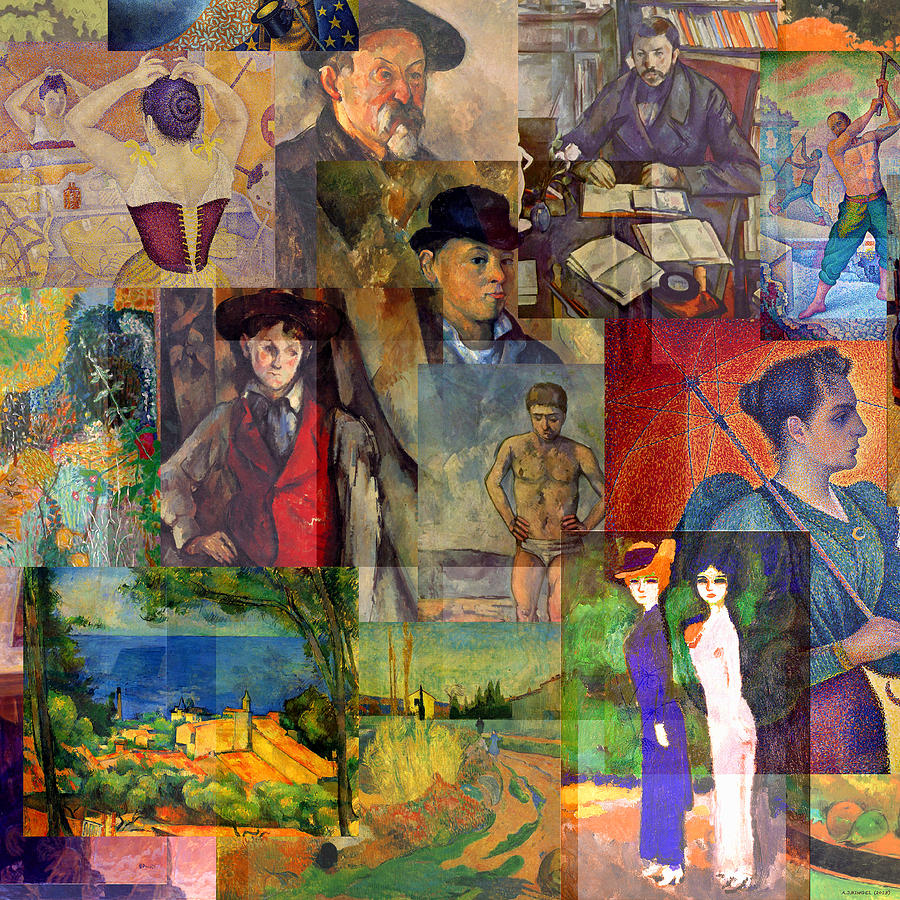 Neo Impressionism: Neo-impressionism 1886 To 1894 Mixed Media By Anders Hingel