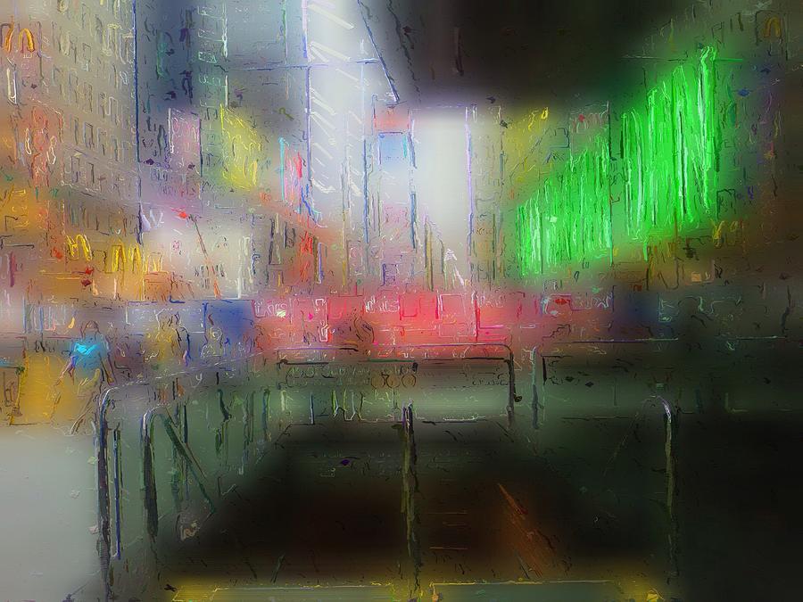 Neon Expressions Digital Art by Steve K