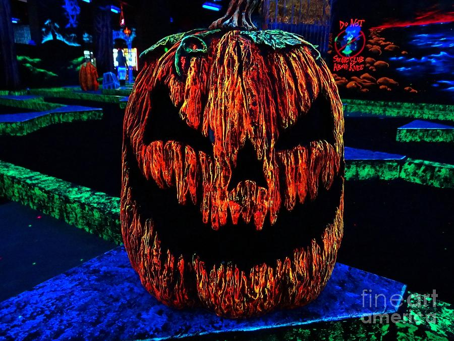 Neon Photograph - Neon Jack by Ed Weidman