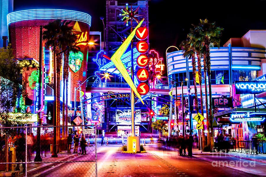 Las Vegas Photograph - Neon Vegas by Az Jackson