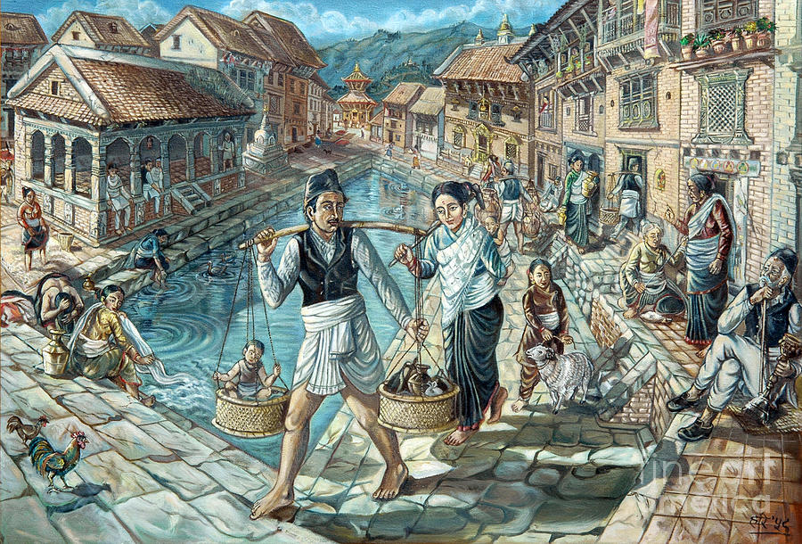 Art In Tradition Paintings