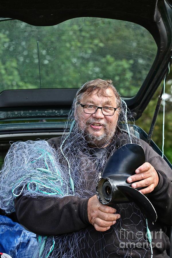Happening  Photograph - Neptun . Doctor Andrzej Goszcz .   by  Andrzej Goszcz