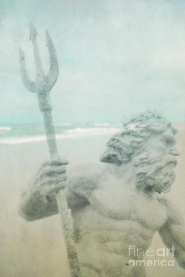 Neptune Photograph - Neptunes Myth by Sharon Kalstek-Coty