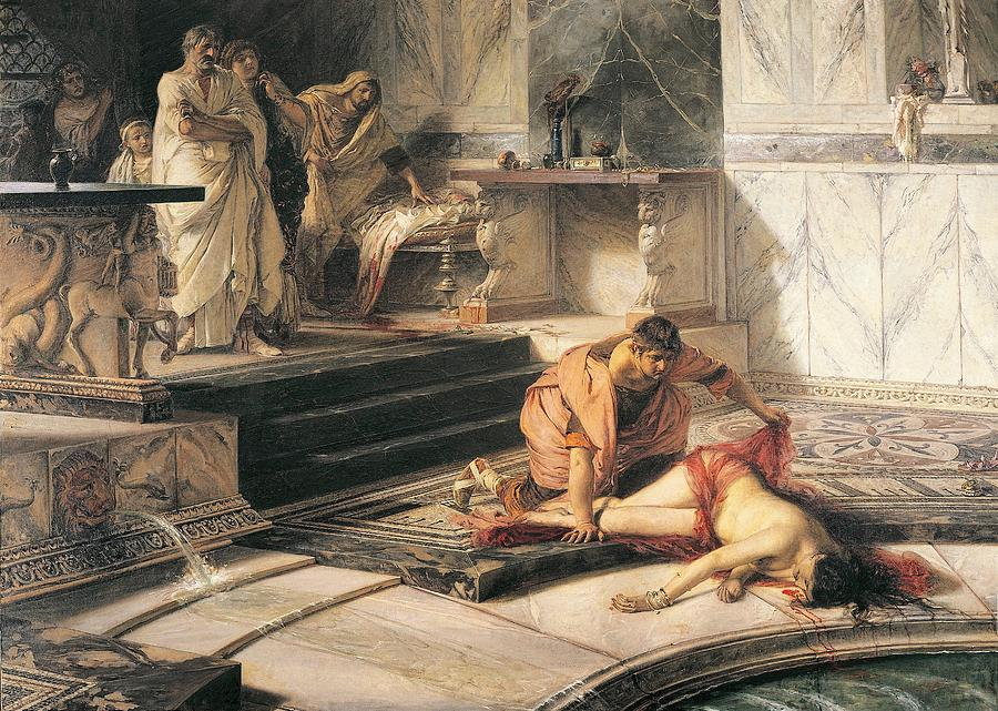 9 Juni Dalam Sejarah: Pada 68 Masehi, Kaisar Romawi Nero melakukan bunuh diri setelah mengalami kudeta