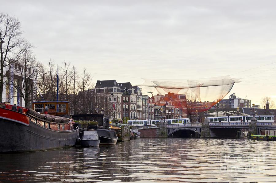 Amsterdam Digital Art - Nets by Pravine Chester