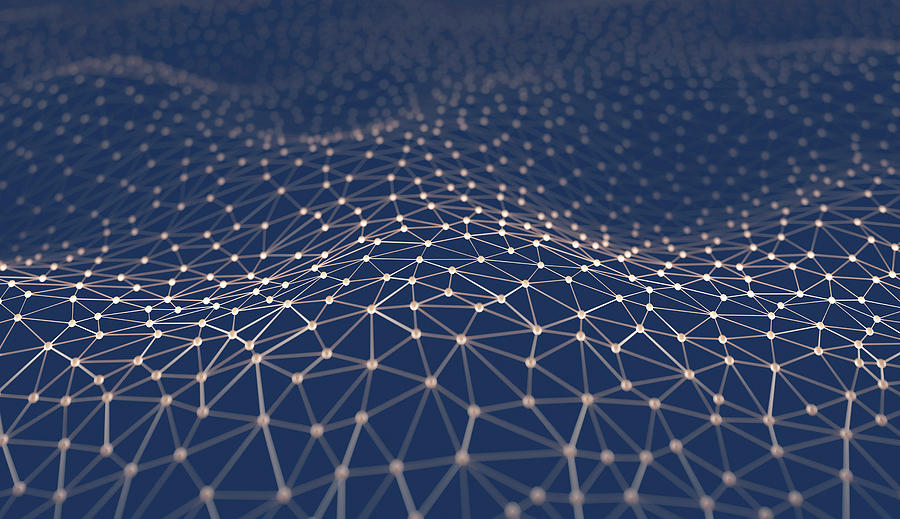 Network, Conceptual Illustration Digital Art by Ktsdesign/science Photo Library