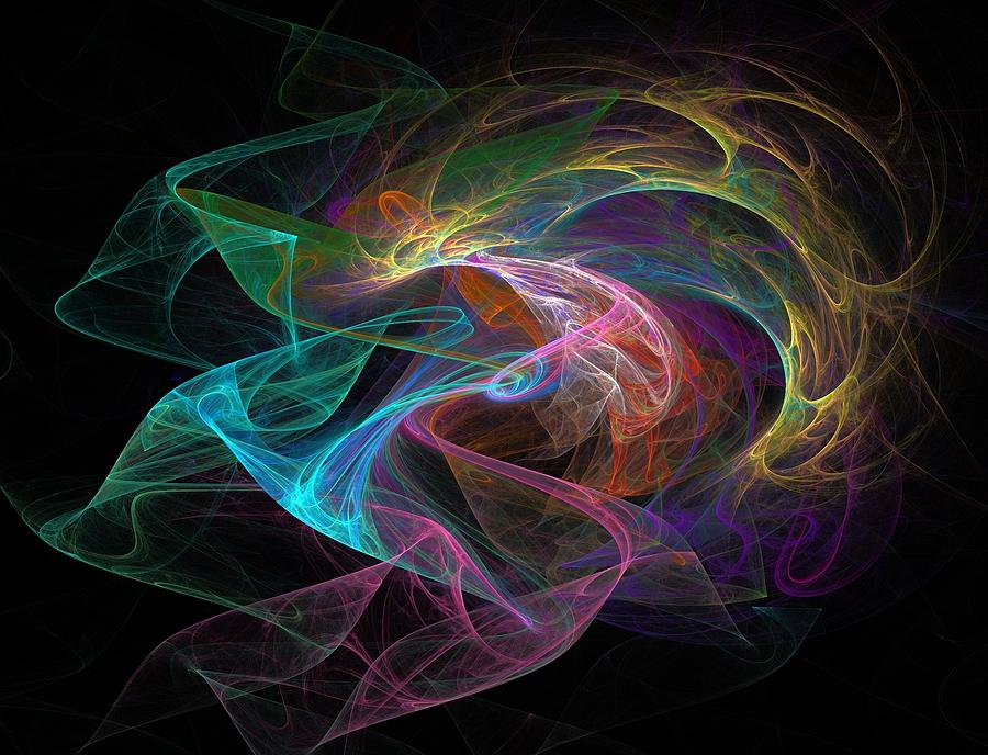 Neuron Digital Art - Neural Transmission by Barroa Artworks