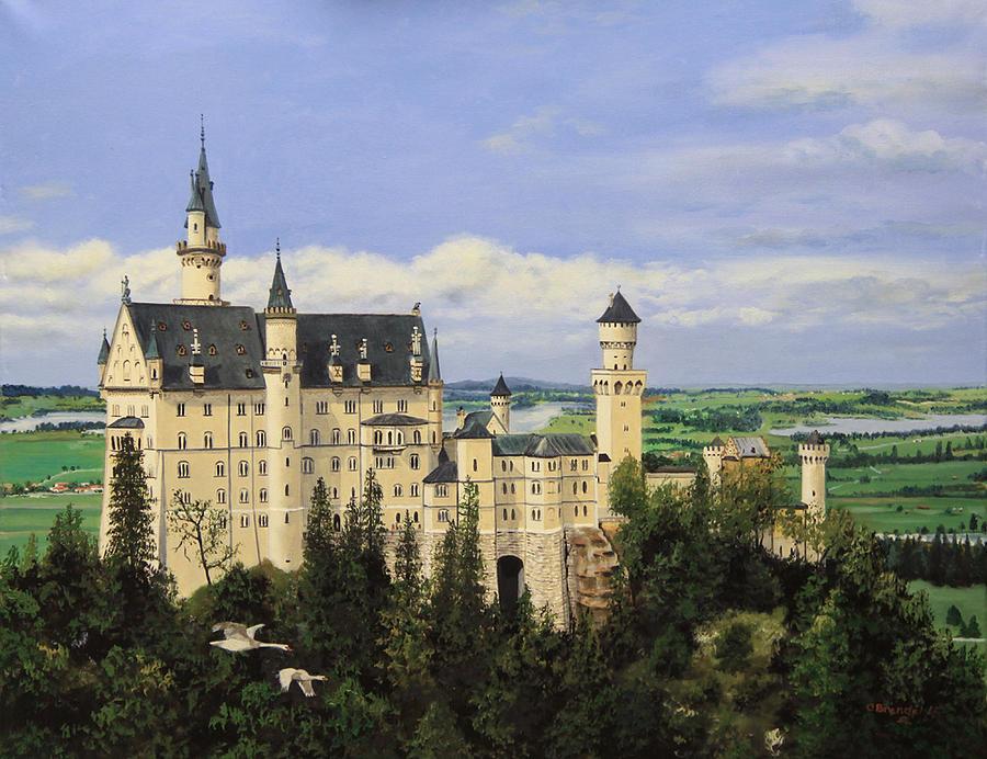 Neuschwanstein Castle Germany by Cecilia Brendel