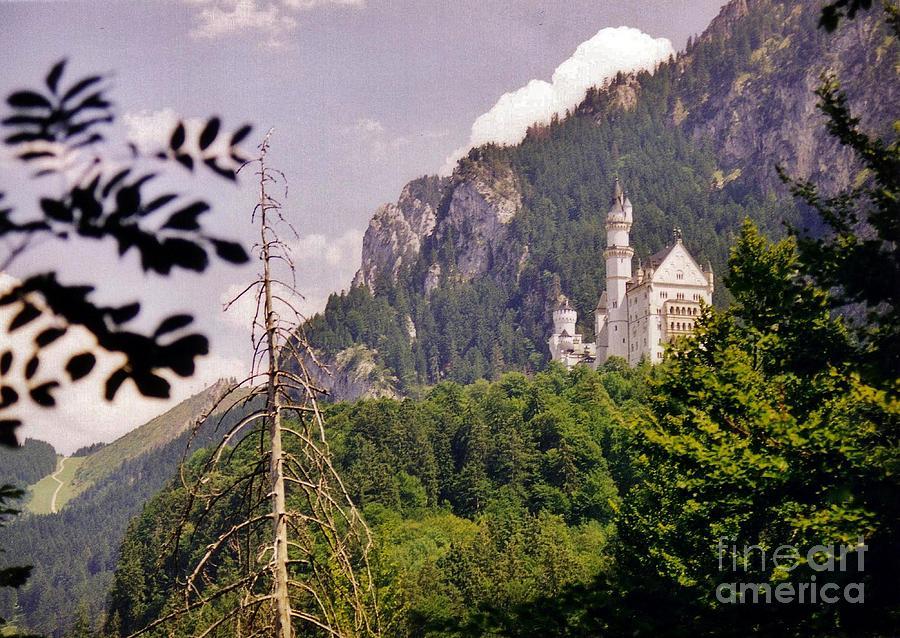 Castle Photograph - Neuschwanstein Castle by Halifax Artist John Malone