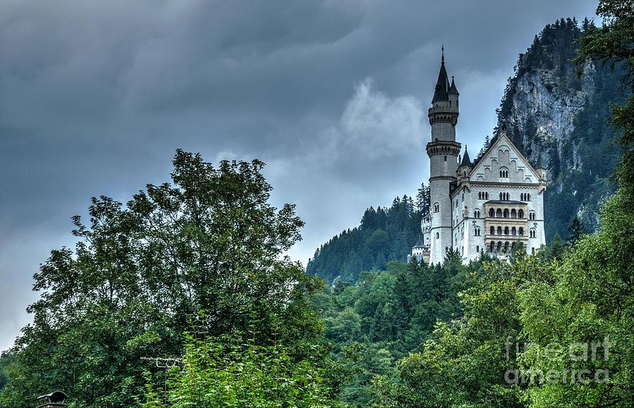 The Fairy Tale Neuschwanstein Castle Photograph