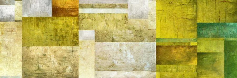 White Painting - Neutral Study No. 5 by Michelle Calkins