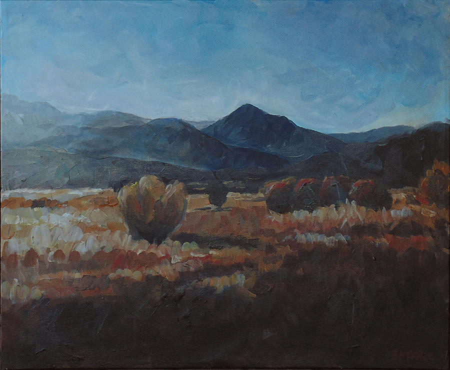 Landscape Painting - Nevada Afternoon by Susan Moore
