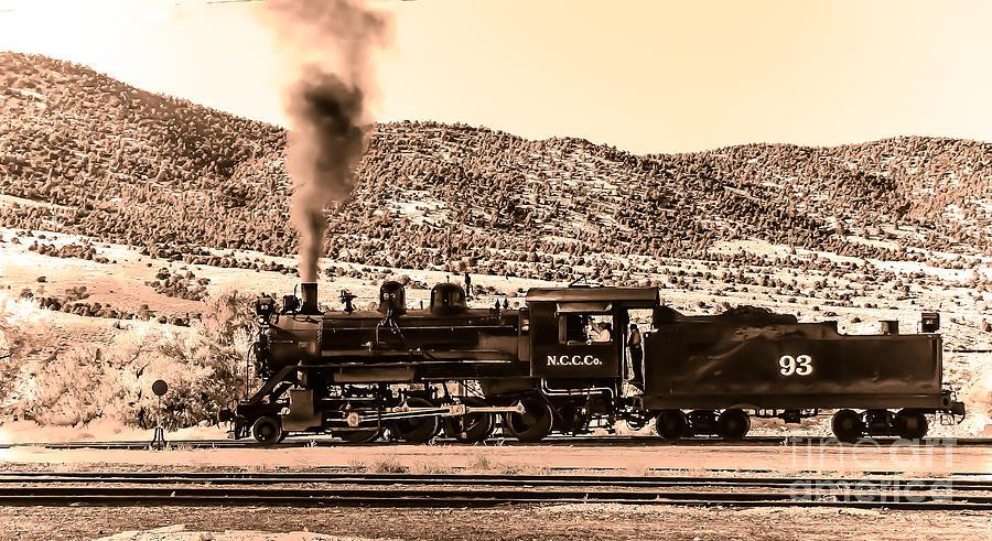 Train Photograph - Nevada Northern Railway by Robert Bales
