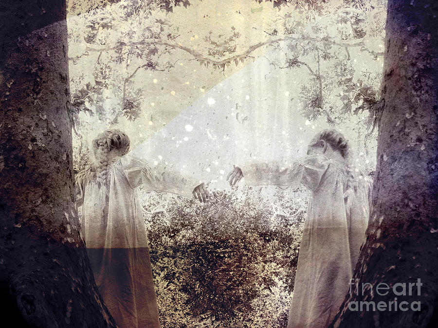 Fantasy Photograph - Never Grow Up by Ellen Cotton
