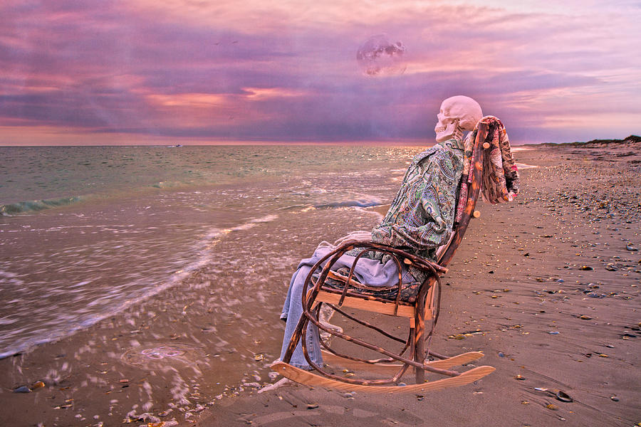 Human Photograph - Never Let Fear Decide Your Fate by Betsy Knapp