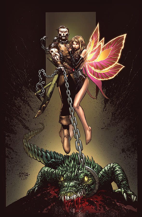 Grimm Fairy Tales Digital Art - Neverland 01a by Zenescope Entertainment
