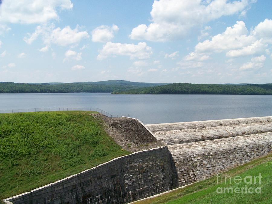 Reservoir Photograph - Neversink Reservoir Dam by Kevin Croitz