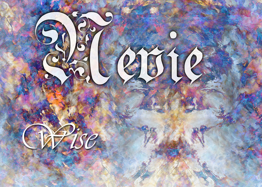 Spiritual Painting - Nevie - Wise by Christopher Gaston
