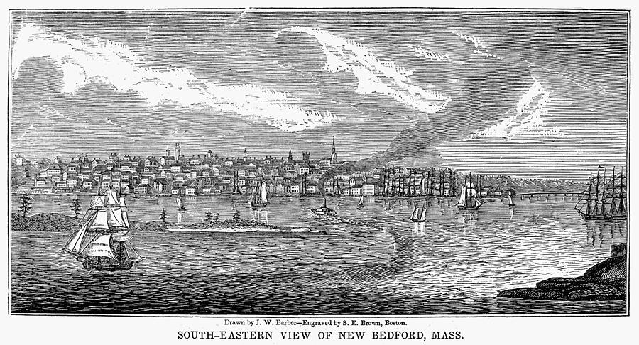 American Painting - New Bedford, 1839 by Granger