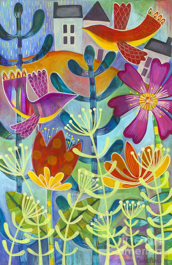 Botanic Painting - New Beginning by Carla Bank