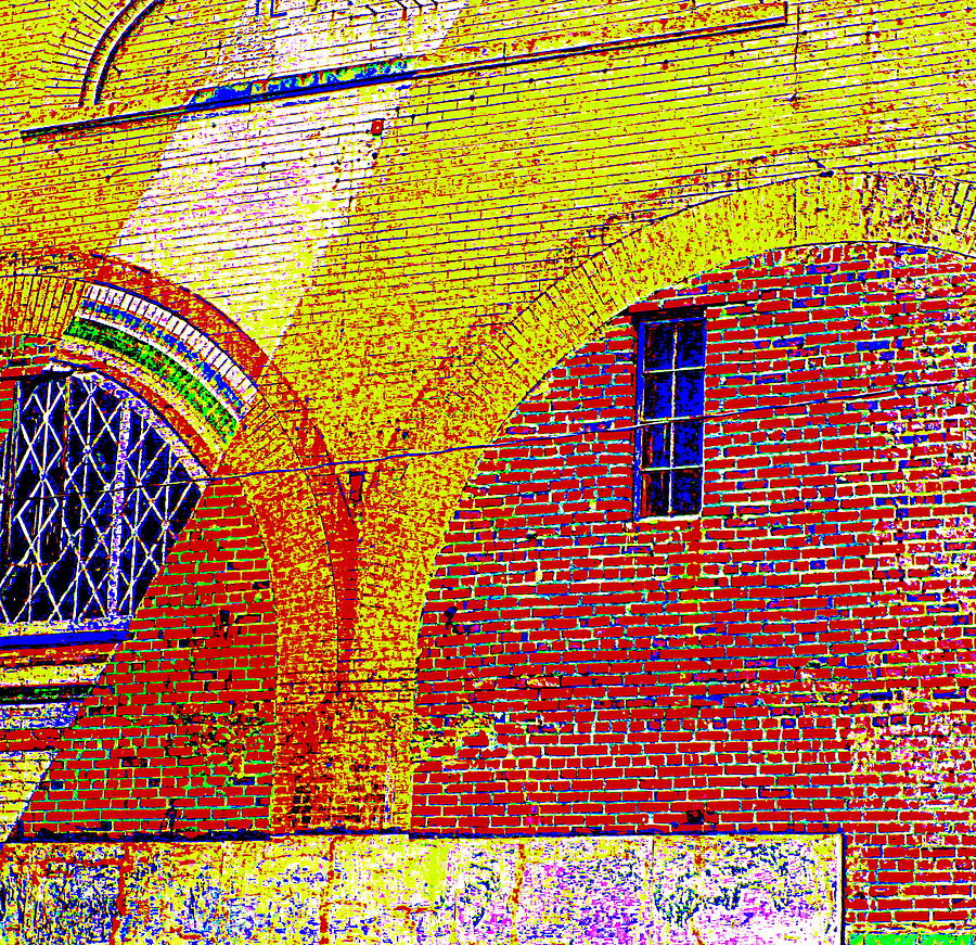 North Carolina Photograph - New Bern Mural by Randall Weidner