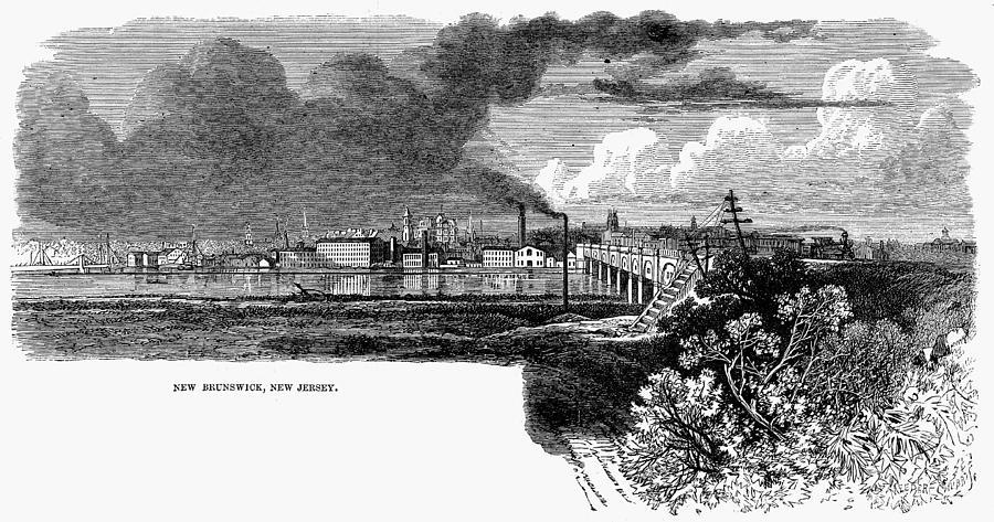 1876 Painting - New Brunswick, 1876 by Granger