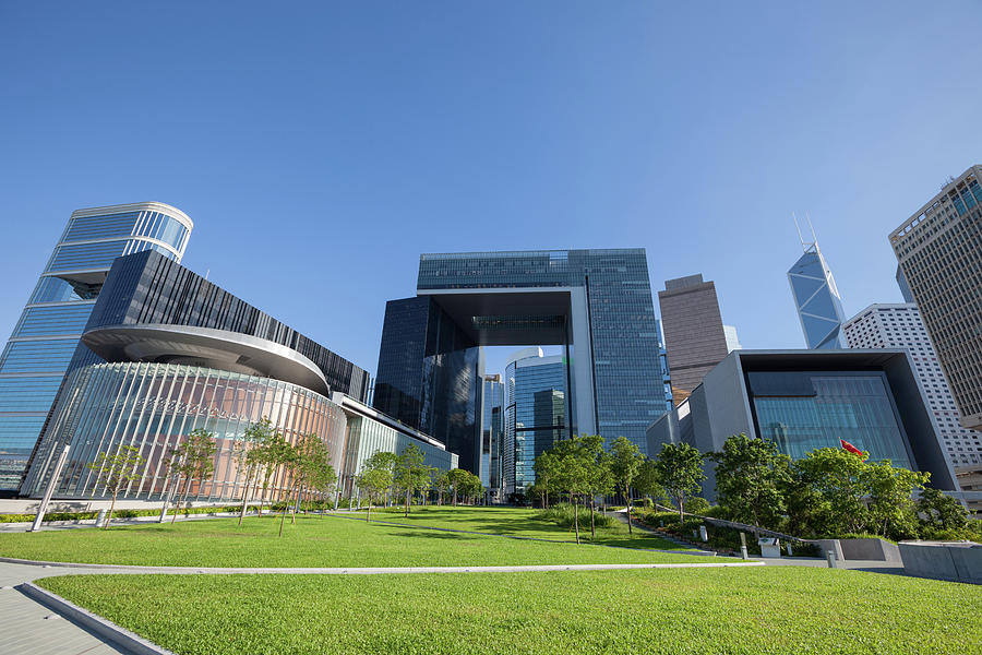 New Central Government Complex Photograph by Winhorse