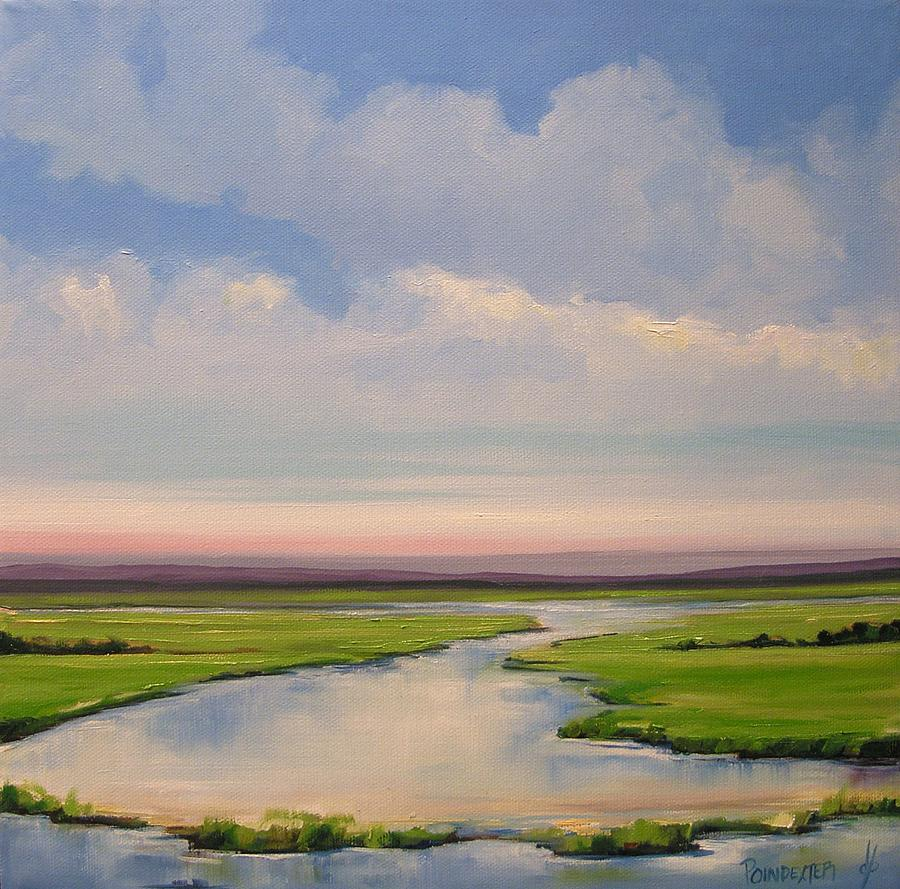 Landscape Painting - New Dawn by Dianna Poindexter