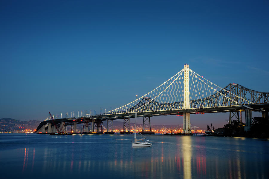 New Eastern Span Of The Bay Bridge At Photograph by Thomas Winz