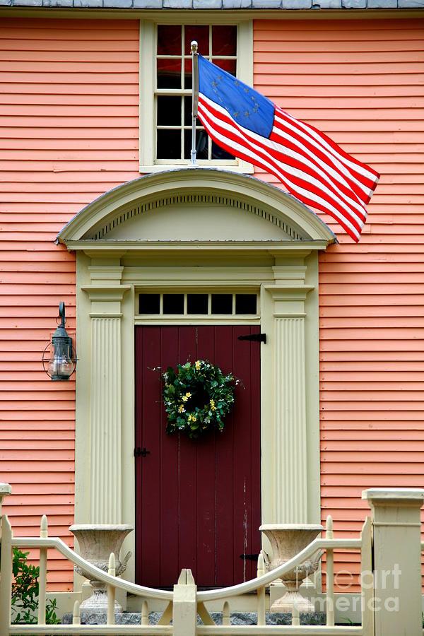 Beau Door Photograph   New England Door By Bill Keiran