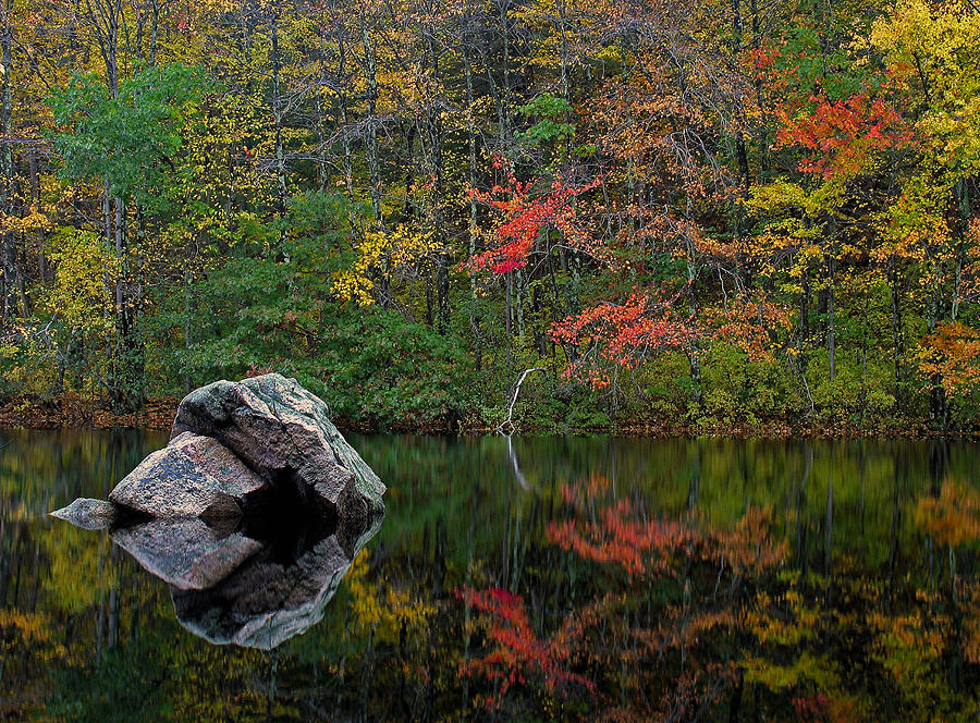 Landscape Photograph - New England Photography by Juergen Roth