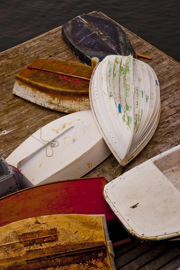 New Harbor Boats Photograph - New Harbor Boats by Karma Boyer