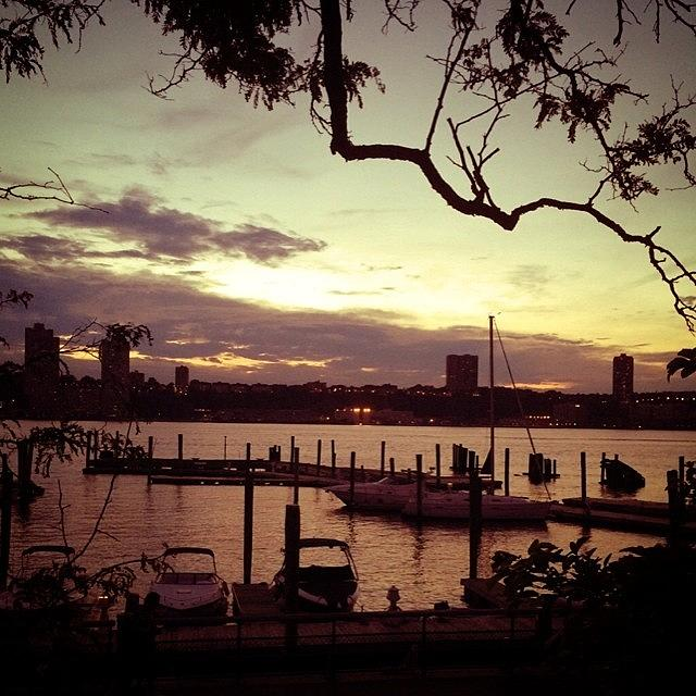 Uws Photograph - New Jersey, At Sunset #iphoneonly by Jan Pan