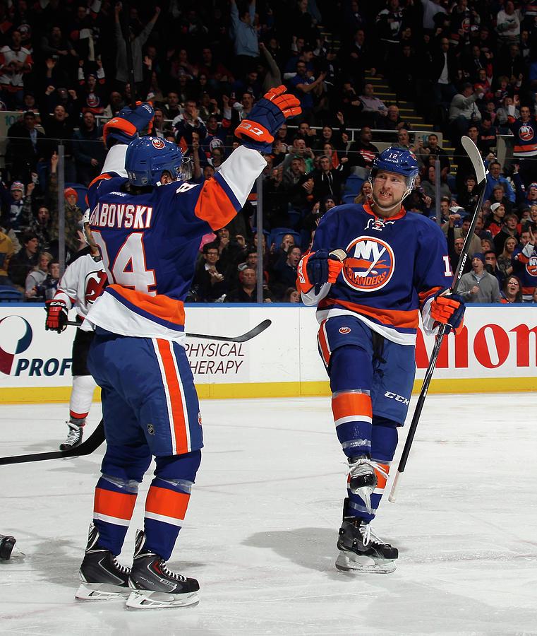 New Jersey Devils V New York Islanders Photograph by Bruce Bennett