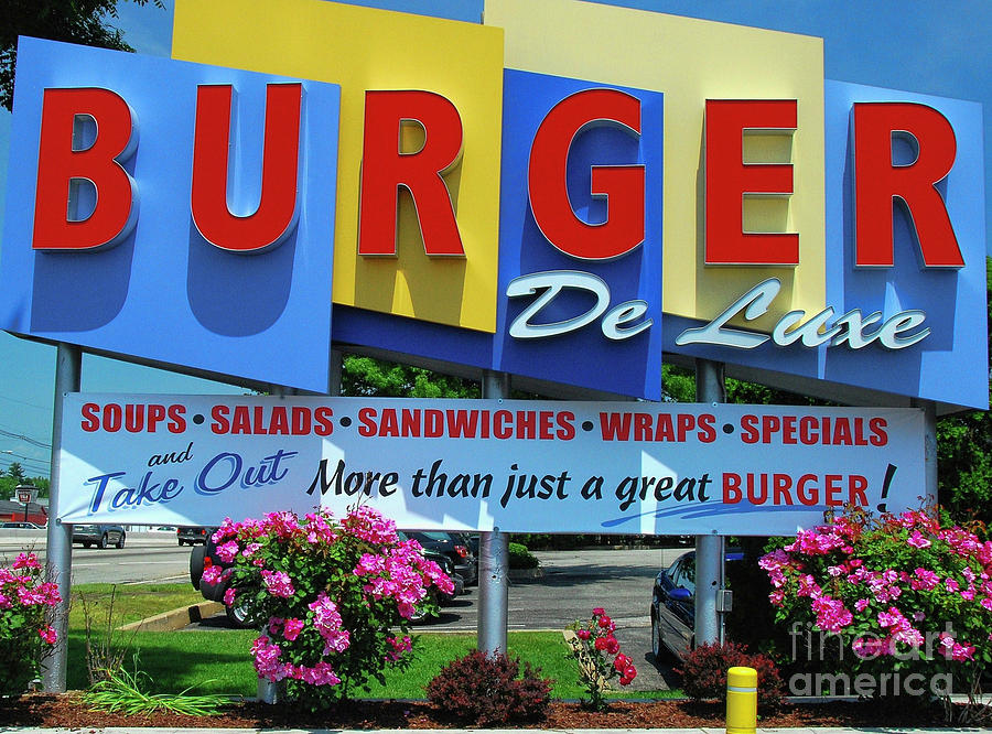 New Jersey Diner Photograph - New Jersey Diner by Allen Beatty