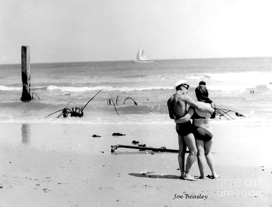 Beach Photograph - New Jersey Shore  1964 by   Joe Beasley